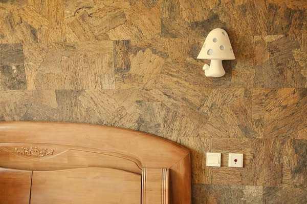 cork wall tiles orgclay bedroom