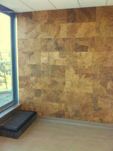 Cork wall tiles forna 5mm orgclay per carton for Cork flooring on walls