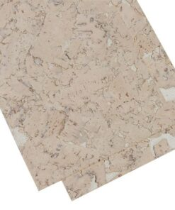 creme cork board wall covering