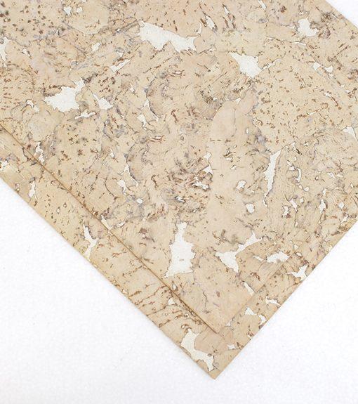 creme cork board wall covering