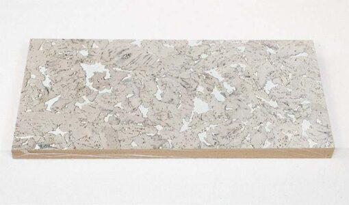 creme decorative cork wall tiles