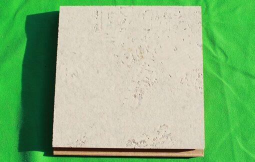 creme royal floating cork flooring 12mm sample