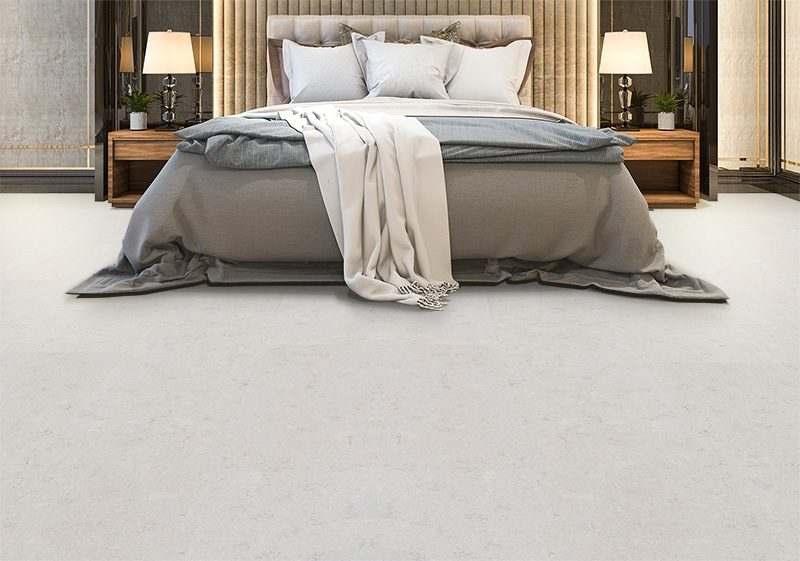 creme royal marble cork floor luxury bedroom suite in hotel
