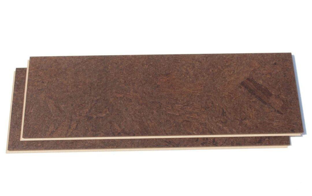 Dark Cork Flooring Brown Salami Cork 11mm Floating