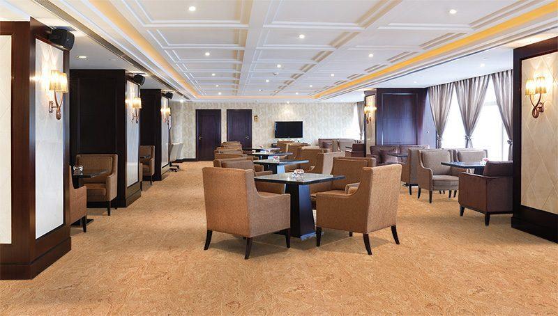 desert arabel cork floor forna luxury lounge bar interior