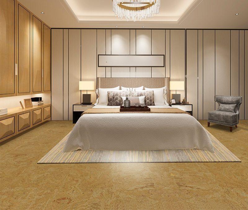 desert arable cork floor bedroom best flooring for allergies