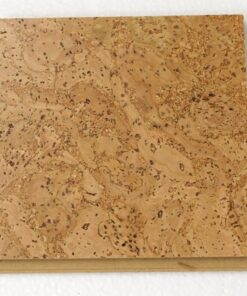 desert arable leather floating cork flooring 10mm sample
