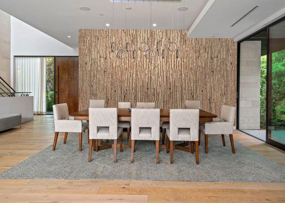 durango acoustic cork wall panel tiles