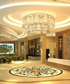 eco clay cork wall panels natural hotel lobby public space wall material