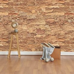 eco clay cork wall panels tiles green soundproofing livign room interior wall