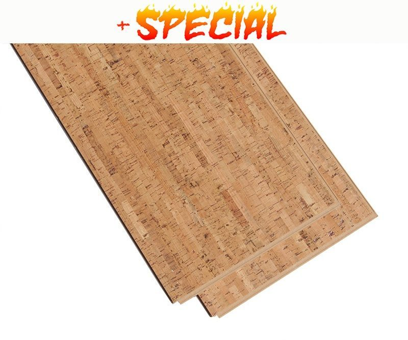 Cork Floating Floors Silver Birch 11mm Forna Floating