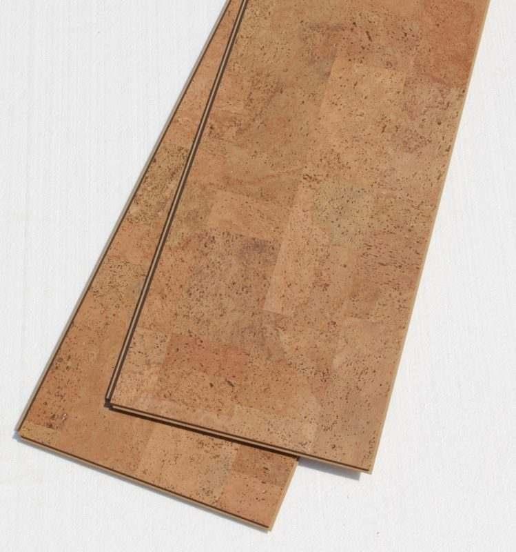 floating cork floors leather forna 12mm natural color