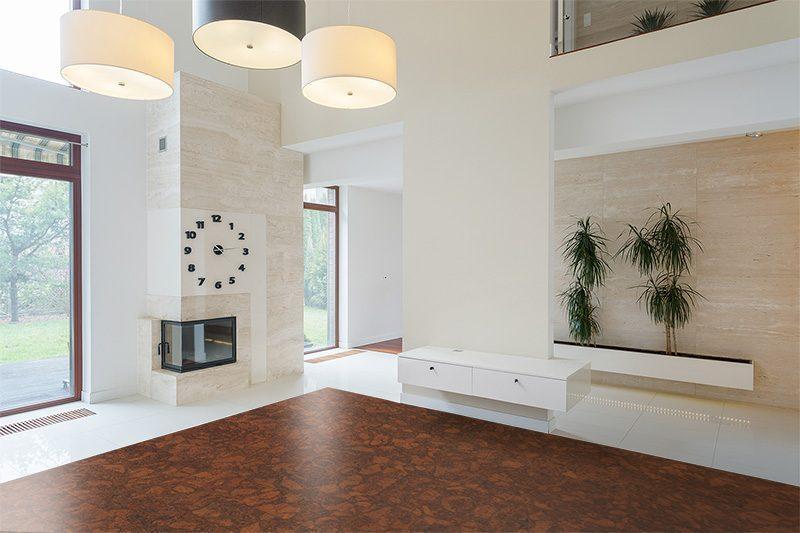 floating floor tile beveled sunny ripple renewable resource