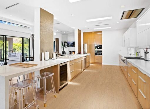 forest real design wood bright natural materials kitchen wooden floor