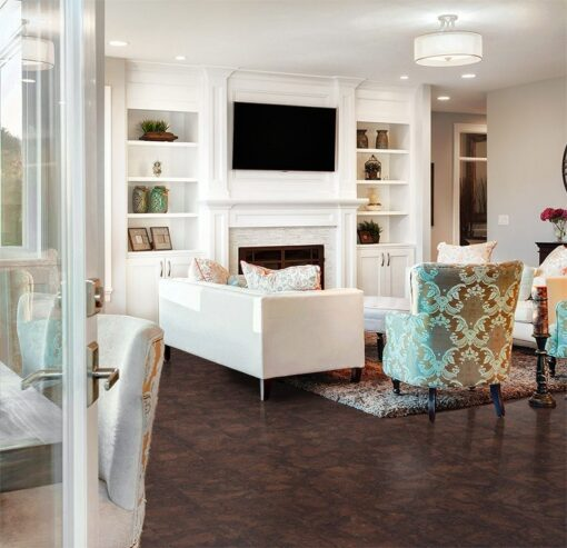 gemwood cork floor beautiful living room new home seen