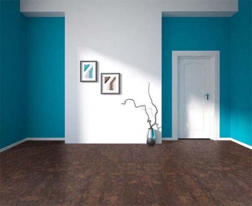 gemwood cork floor green abstract d geometrical design