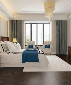 gemwood cork flooring soft cushion beautiful luxury bedroom suite in hotel