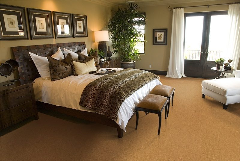 golden bach cork floor spacious luxury top end bedroom