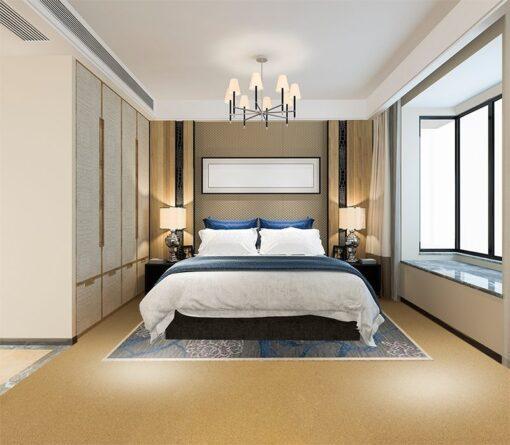 golden beach cork flooring soundproofing bedroom suite hotel