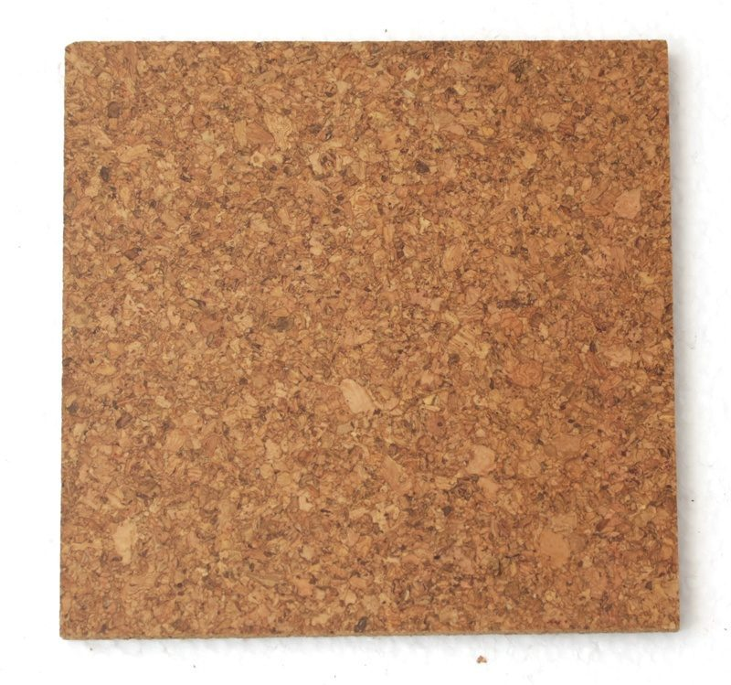 8mm Cork Tiles Golden Beach Sample