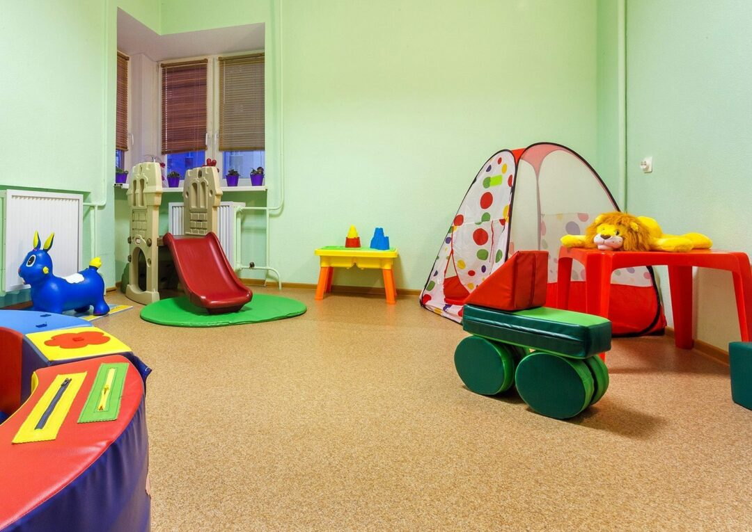 golden beach game room in kindergarten kids playroom daycare center