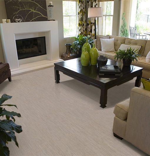 Superb Gray Bamboo Cork Flooring Contemporary Living Room Fireplace Part 16