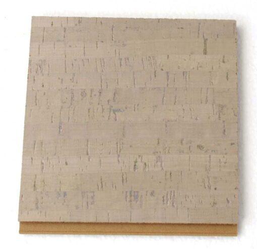 gray bamboo floating cork flooring 12mm sample
