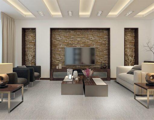 gray bamboo forna cork floor living room modern style interior designgray bamboo forna cork floor living room modern style interior design