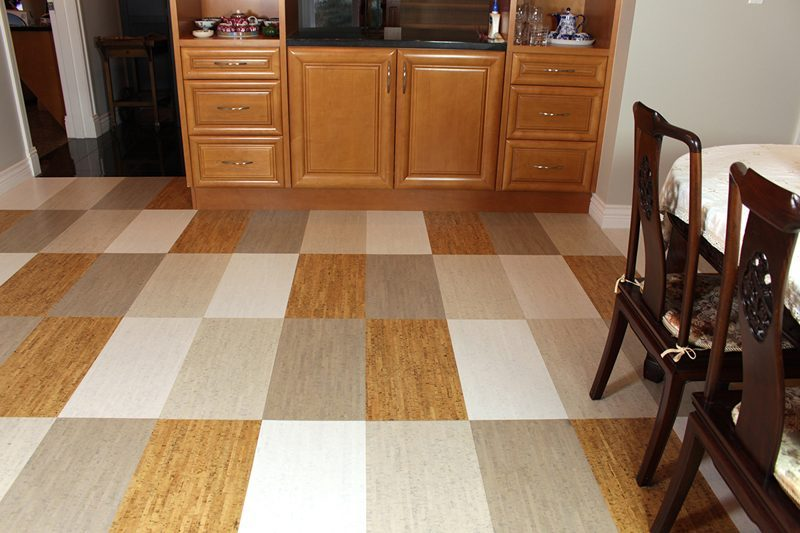 gray bamboo white bamboo bleached birch silver birch cork tile. White Cork Floors   White Bamboo 6mm Tiles