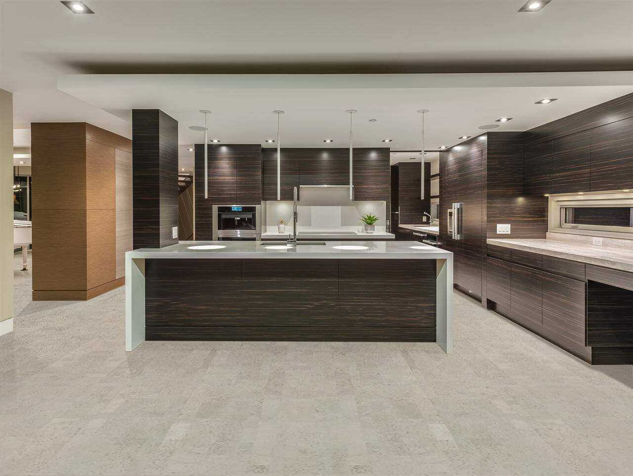 gray cork flooring gray leather eco home