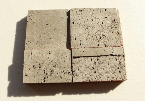 gray cubes acoustic harmany cork wall panels peel and stick