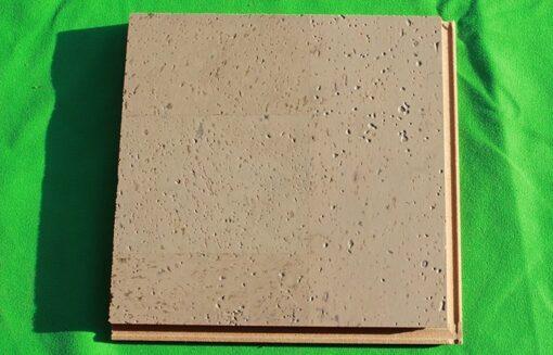 gray leather floating cork flooring 12mm sample