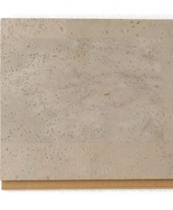 gray leather floating cork flooring 12mm sample