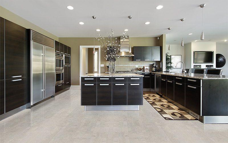 Grey Cork Floor Gray Leather 6mm Cork Tiles 22sq Ft