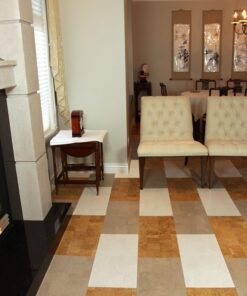 gray leather white leather natural leather cork tiles