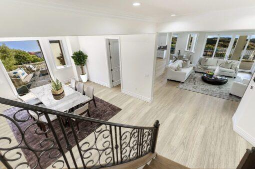 hamilton printcork flooring swiss made living dinning room idea