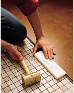 install cork floor planks