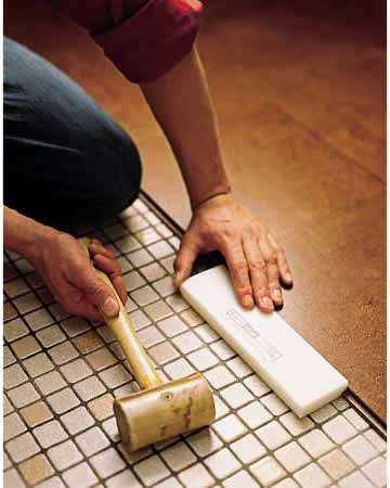 install cork floor planks