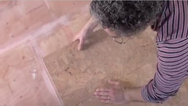 installing cork flooring tiles