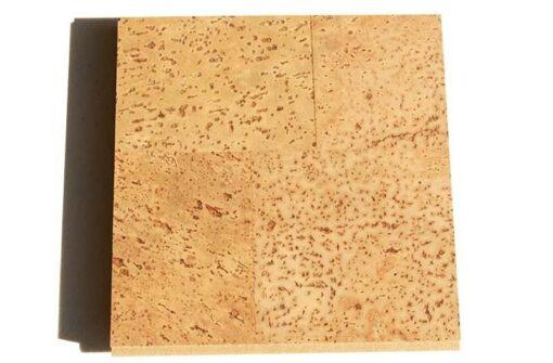 leather floating cork flooring 12mm sample