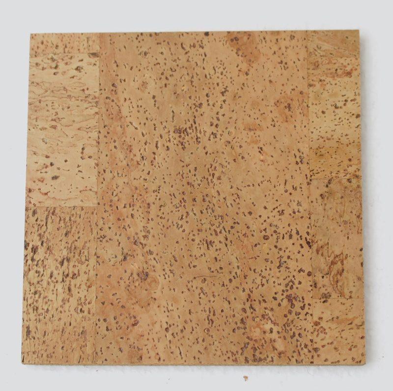 leather forna cork tiles sample
