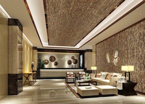 ledge stone cork ceiling tiles acoustic soundproofing