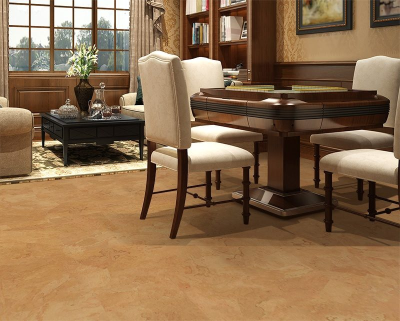 Logan Foran Cork Floor Luxury Living Room Mahjong Table Soundproofing Floors