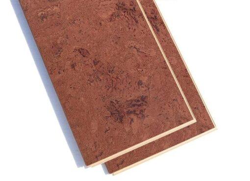 mahogany ripple 12mm cork floating floor