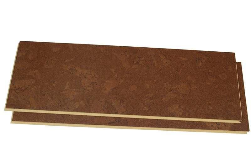 mahogany ripple 12mm cork floating floors