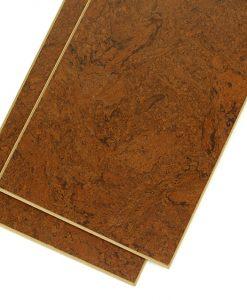 mahogany salami cork flooring planks