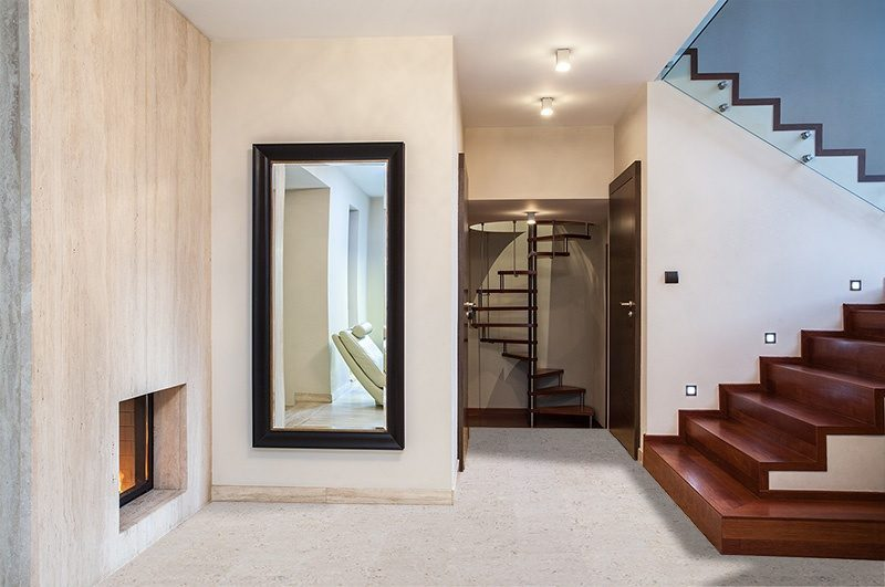 marble forna cork floor off white at modern home