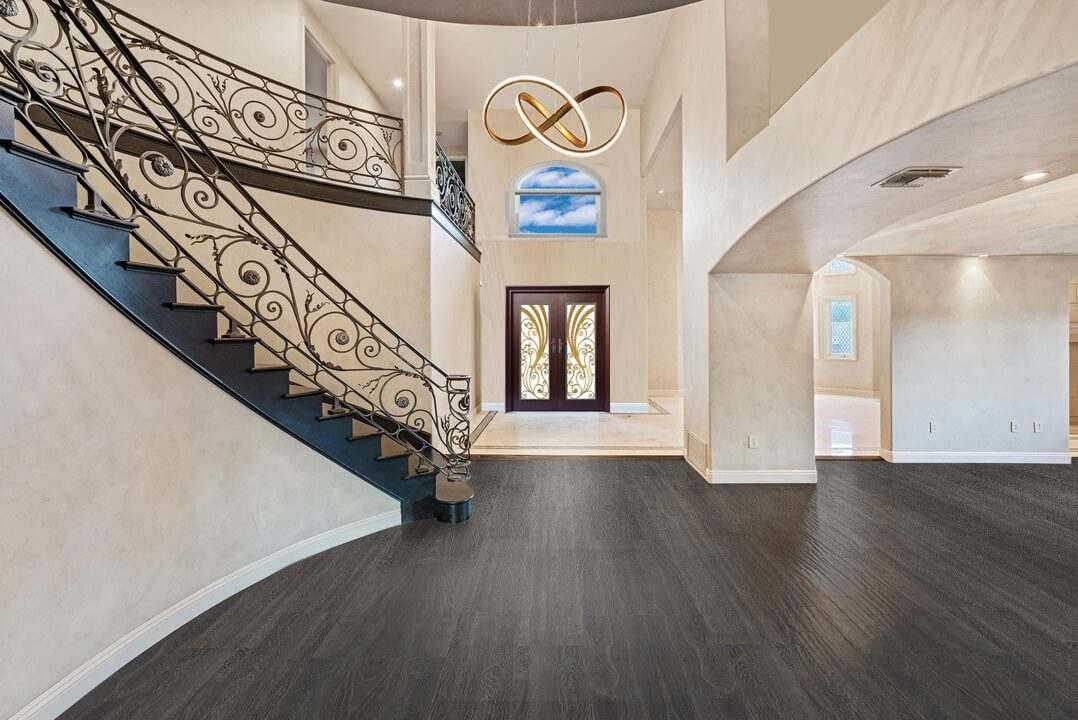 mocha design cork flooring swiss made dark brown modern house