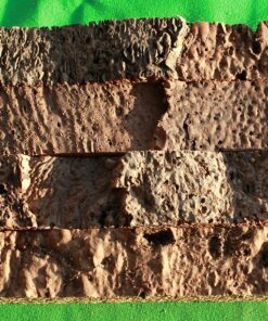 narrow brick cork wall panels tiles sample