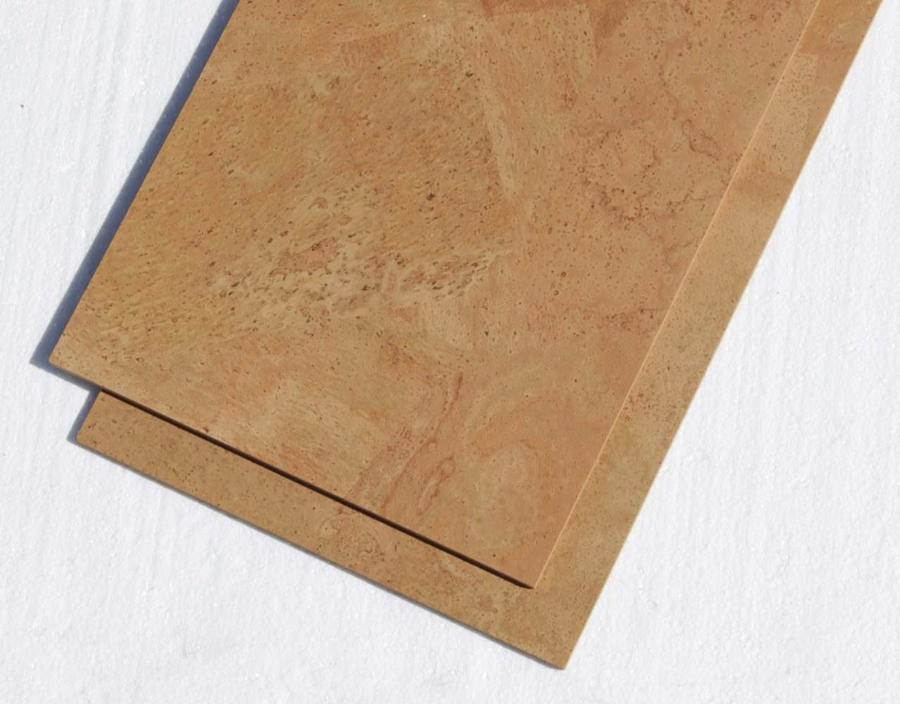 Natural cork floor logan 6mm cork tiles for Cork floor tiles